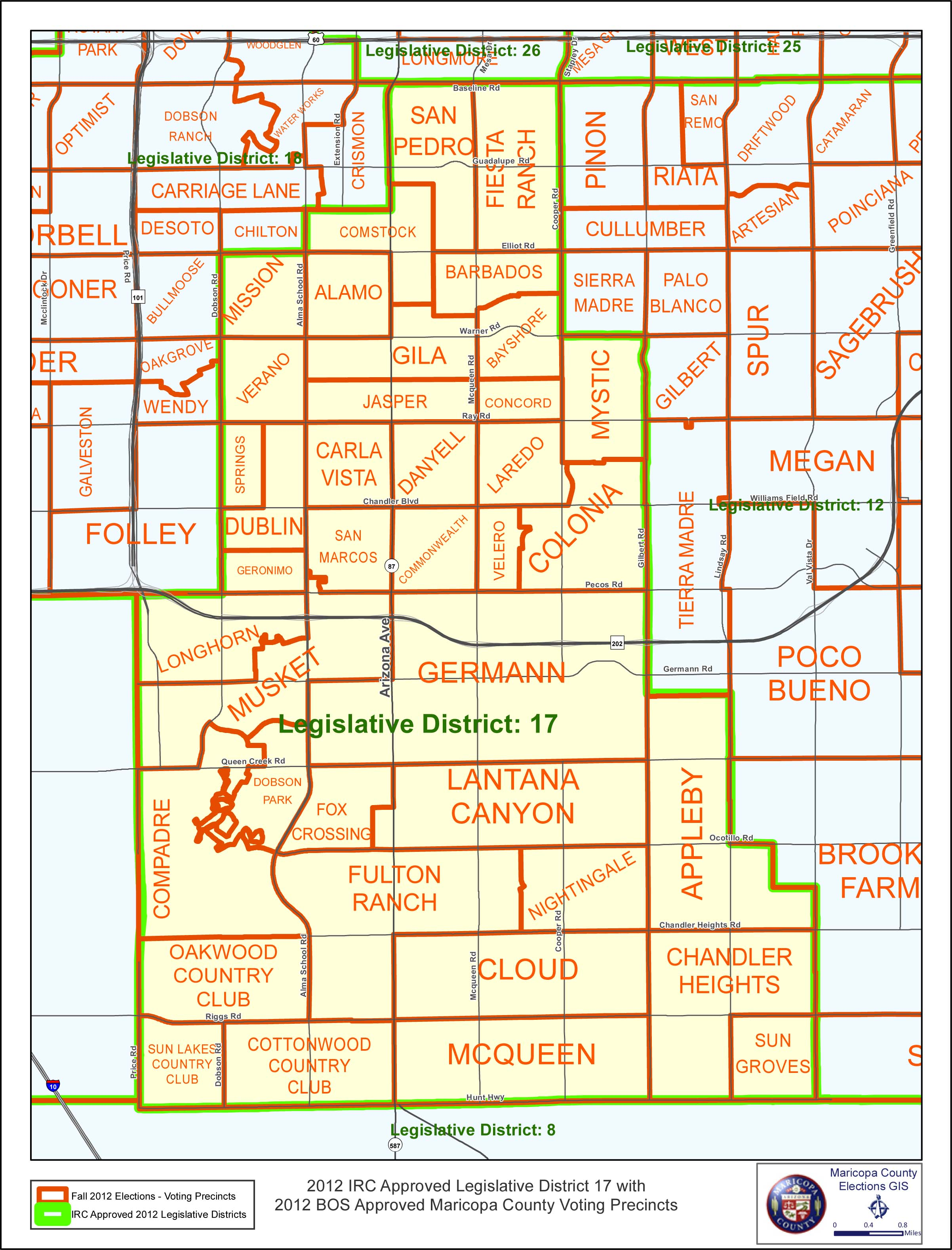 Map Of Arizona Legislative Districts.Legislative District 17 Map Legislative District 17 Democrats